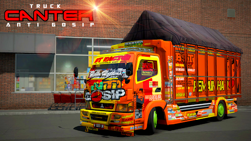Truck simulator CANTER 8 screenshots 1