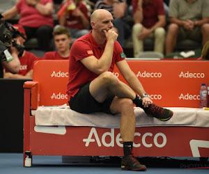 """Michael Geerts blikt terug op Davis Cup: """"Kapitein Johan Van Herck is altijd positief gebleven"""""""
