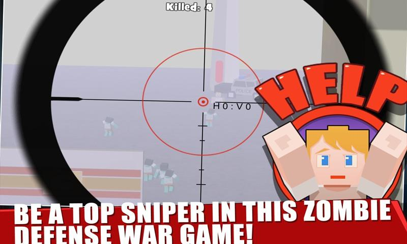 Zombie Town: Sniper- screenshot