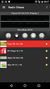 RADIO GHANA screenshot 4