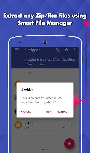 Easy Zip Unzip File Manager 1.15 screenshots 6