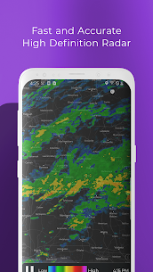 MyRadar Weather Radar Pro Apk (Pro Features Unlocked) 1