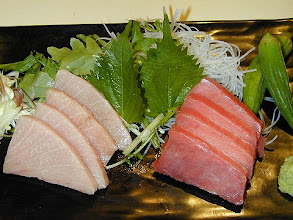 Photo: Bluefin Tuna and Toro Sashimi