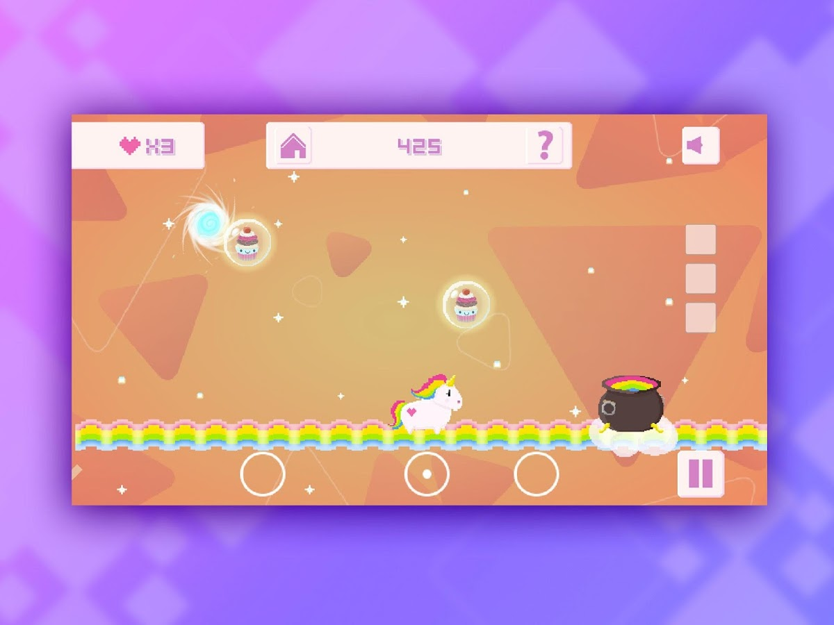 Fluffy Bounce: A Unicorn Tale – Screenshot