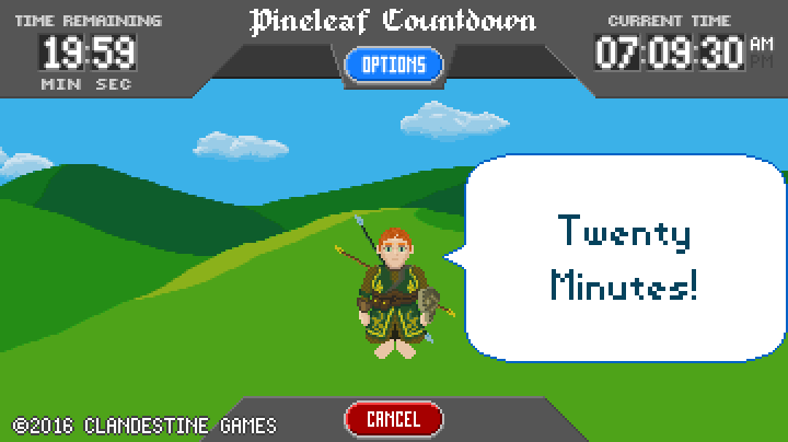 Pineleaf Countdown- screenshot