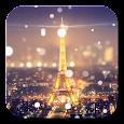 Paris Night Light LWP Icon
