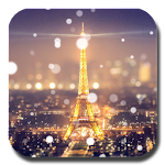 Paris Night Light LWP Icon