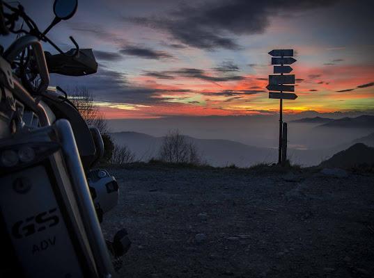 verso il tramonto.. di Fabry