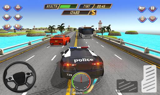 고속도로 경찰 대 자동차 도난