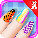 Nail Art Salon with Manicure & Pedicure Girls game Icon