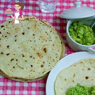 Easy Homemade Healthy Flour Tortilla.
