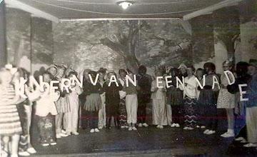 Photo: Bosvolk bonte avond 1955