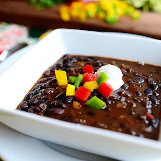 Black Bean Soup.