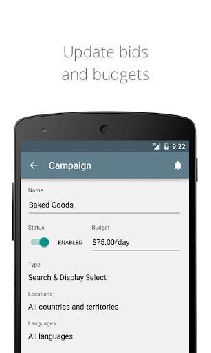 AdWords Screenshot