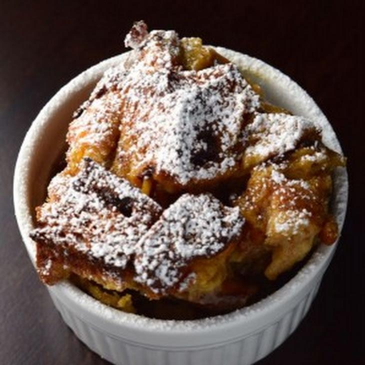 Cinnamon Bread Pudding with Raisins and Dates Recipe
