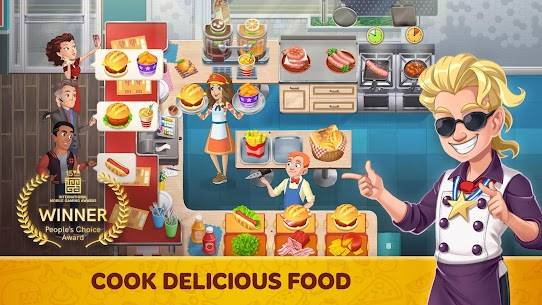 Cooking Diary® MOD (Unlimited Gems) 1