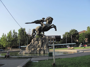 Photo: Jerewan, Bahnhof