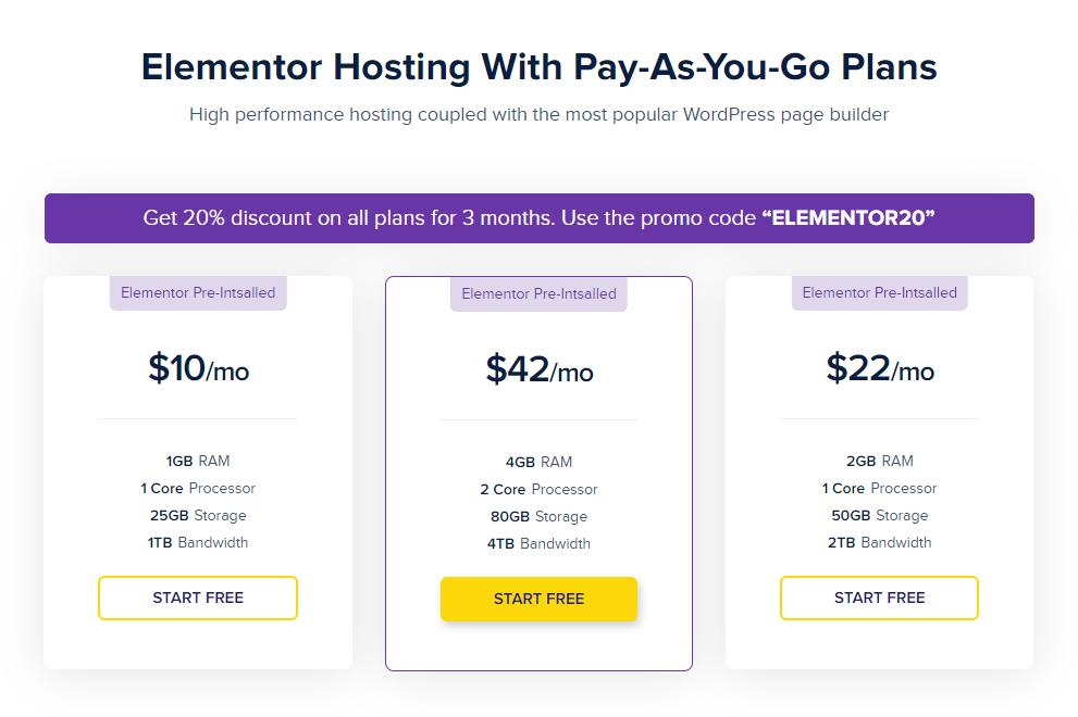 elementor-hosting-plan