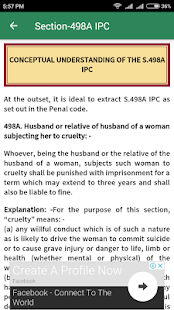 Section - 498A Indian Penal Code - náhled