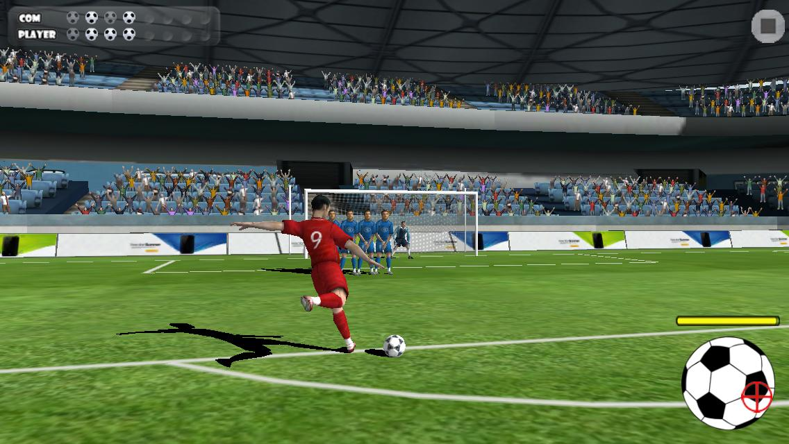 Screenshots of Free Kicks for iPhone