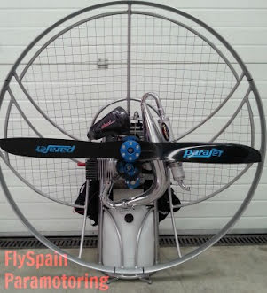 Paramotor & glider package a great hit this spring