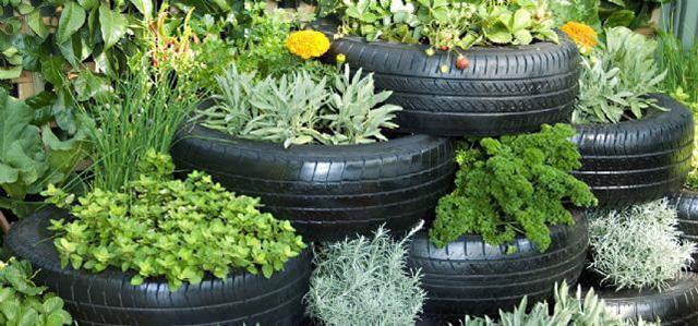 10 Fabulous Tyre Planters Ideas To DIY 4