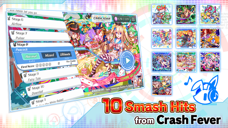 Sonic Beat feat. Crash Fever Screenshot 1