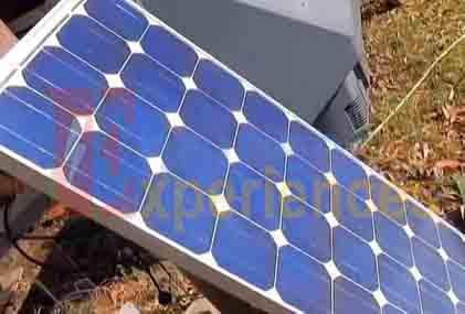 solar  panel for MPPT based solar battery charger