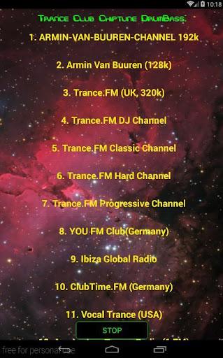 Trance Club Music Radio PRO