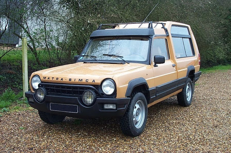 The Matra-Simca Rancho, the vehicle that can really claim to be the first true crossover. Picture: WIKIPEDIA