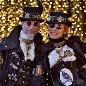 Karnevalové veselí - Benátky 2017 by Jiří Staško - People Musicians & Entertainers