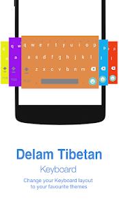 Delam Tibetan Keyboard - náhled