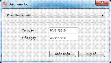 Theo dõi lịch sử chứng từ phần mềm kế toán 3TSoft