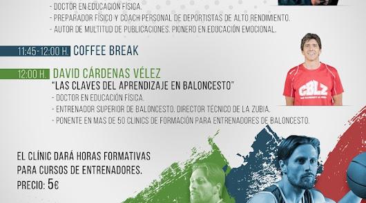 Clinic para entrenadores de baloncesto organizado por el CB La Mojonera