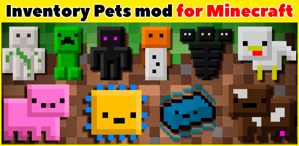 Inventory Pets Mod For Mcpe 2 3 9 Apk Download Mods Formcpe Inventorypets Apk Free