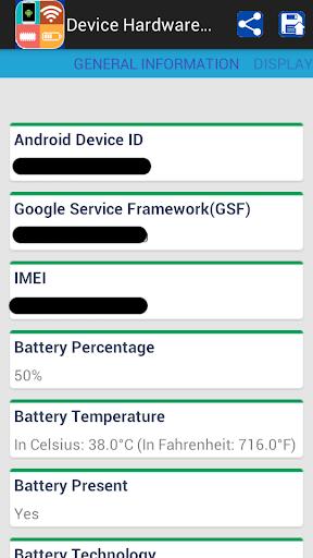 Device Hardware System Info
