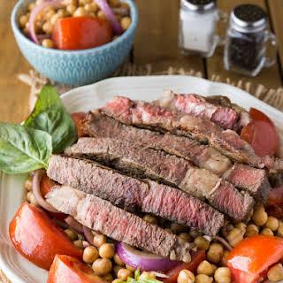 Steak Stir-Fry & Mediterranean Style Grilled Rib Steak.