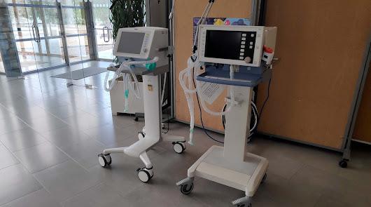 Respiradores donados por la UAL a Torrecárdenas.
