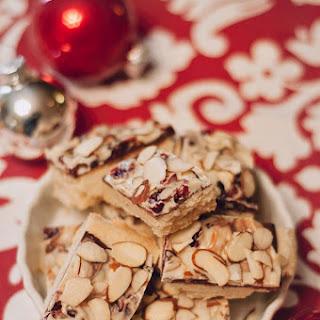 Cranberry Almond Bark Shortbread