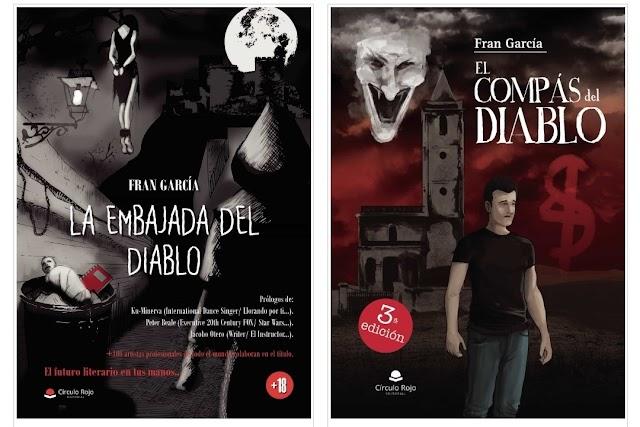 Los dos libros de Fran García, autor de Cabo de Gata.