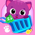 Cute & Tiny Supermarket - Baby Pets Go Shopping icon
