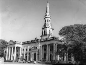 Photo: Saint George's  Cathedral on Edward Elliots Raod, Chennai on the 150th Anniversary Celebration on January 6, 1966.
