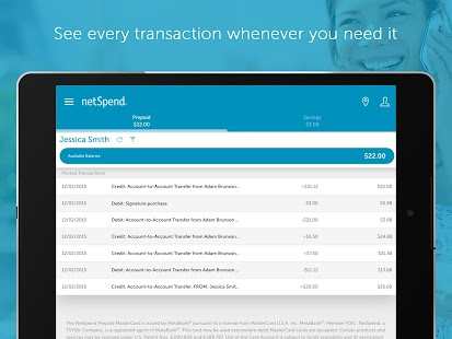 NetSpend Mobile Banking- screenshot thumbnail
