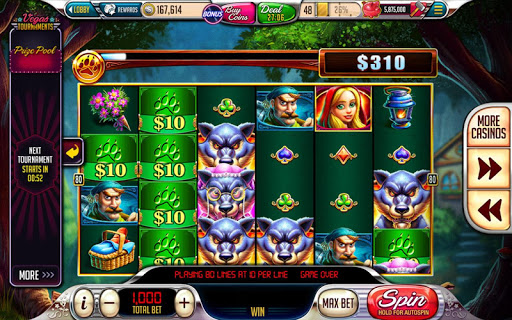 Down Town Slots Free Letters
