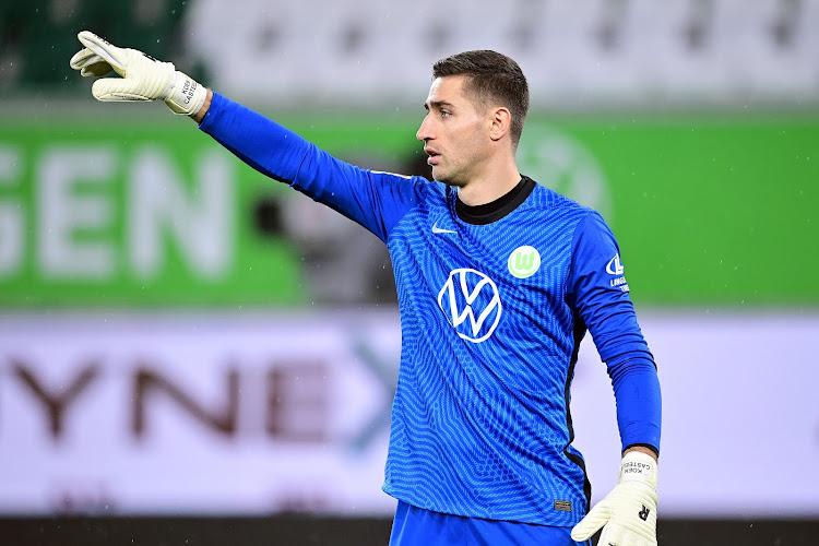 """Koen Casteels zet in Bundesliga straffe reeks neer maar stijgt niet in pikorde van bondscoach Martinez: """"Eerste twee plekken zijn al bezet"""""""