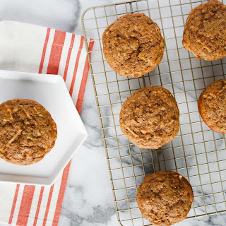Apple Cinnamon Protein Muffins.