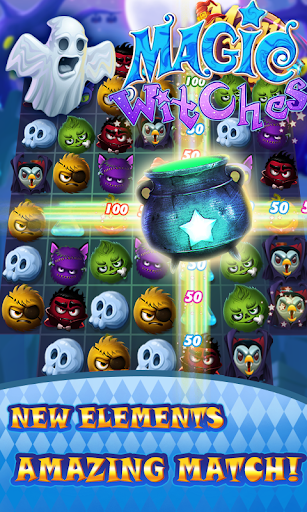 Magic Witch - Match 3 Puzzle-Screenshots 6