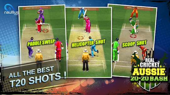 Real Cricket ™ Aussie 20 Bash App Download For Android 2