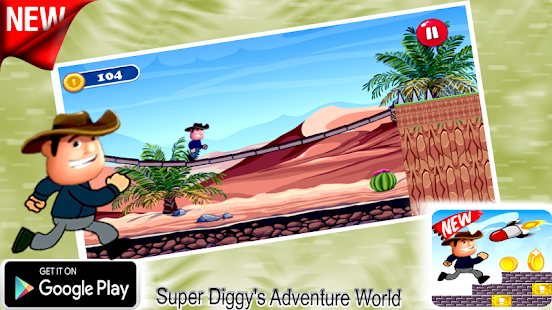 Super Diggy's Adventure World - náhled
