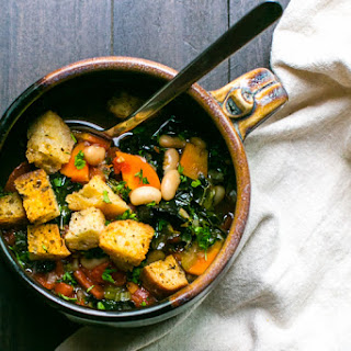Ribollita with Warm Croutons Recipe